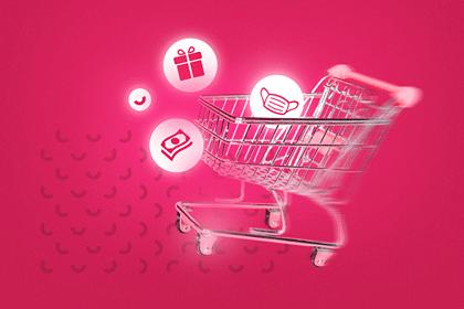Carrinho-de-compra-com-mascara-e-as-tendências-de-consumo